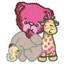 B318 Coleção Bordados Computadorizados Ursos Baby
