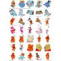 Coleção De Bordados Ursinho Pooh Gratis Baby - 250 Matrizes