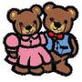 B342 Coleção Bordados Computadorizados Ursos Ursinhas
