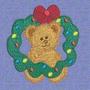 B550 Coleção Bordados Computadorizados Natal Ursos