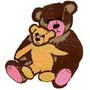B1233 Coleção Bordados Computadorizados Ursos