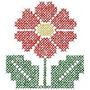 B425 Coleção Bordado Computadorizado Flores Brothe Janome