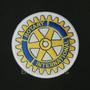 Patch Bordado Log078 Rotary Club Internacional Termocolante