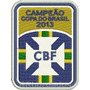 Tpc162 Campeão Copa Do Brasil 2013 Patch Bordado 6,4x8,5 Cm