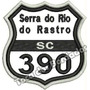 Patch Bordado Serra Do Rio Do Rastro Sc 390 7,5x7cm Car501
