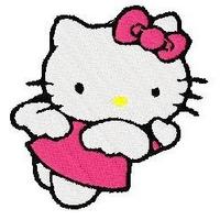 B073 Bordados Computadorizados Coleção Hello Kitty