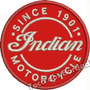 Patch Bordado Moto Indian Motorcycle Since 1901 8x8cm Car528