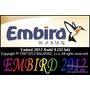 Embird 2012 Bordado Win Xp, 7, 8, Link Download Ou Dvd