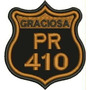 Patch Bordado Serra Da Graciosa Pr410 Tam. 7,5x7cm Pt Car545