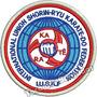 Patch Bordado Karate Shorin-ryu Para Kimono 8cm Branco Esp82