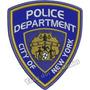 Patch Bordado Brasão Nypd Policia Nova York 10x8,5cm Mlt191