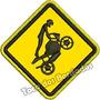 Patch Bordado Street Biker Race Wheeling 8x8cm Moto Car720