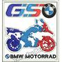 Patch Bordado Moto Bmw Motorrad Gs Tam. 8,5x8cm Car658