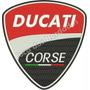 Patch Bordado Brasão Moto Ducati Gr 25cm Para Jaqueta Car741