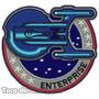 Bordado Termocolante Enterprise Patch Star Trek Gms40