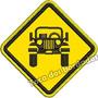 Patch Bordado Off Road Trilha Jeep 4x4 Tam. 8x8cm Car730