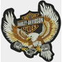 Patch Bordado Hd079 Aguia Pistons Harley Davidson P/colete