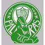 Patch Tag Bordado Palmeiras Mancha Verde 15x14 Termocolante