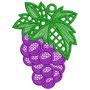 Frutas Rechilie - Matrizes Computadorizadas Para Bordar