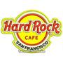 Bordado Termocolante Logo Hard Rock Cafe 12cm Patch Log43