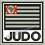 Patch Bordado Bandeira São Paulo Judô Kimono 9x9cm Esp72