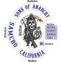 Patch Bordado - Sons Of Anarchy Conjunto I I Com Tarjas 47cm