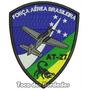 Bordado Força Aérea Brasileira At-27 Patch Militar Mlt19