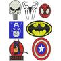 Super Heróis - Matrizes De Bordados Computadorizados
