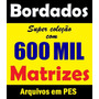 Coleção P E S 600 Mil Bordados Disney Matrizes Brother Pe770
