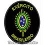 Patch Bordado Milita Brasão Do Exercito Brasileiro Mlt33
