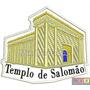 Bordado Termocolante - Iurd - Templo De Salomão 9,5x8cm