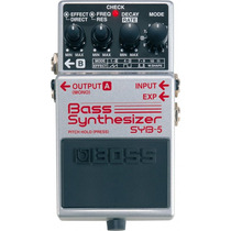 Pedal Boss Sintetizador Bass Syb 5