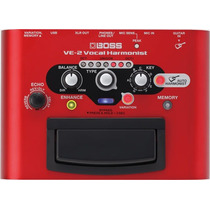 Processador Para Vocal Boss Ve-2 Harmonist Original - Loja !