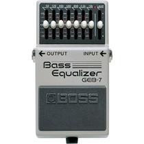 Geb-7: Pedal Equalizador Para Baixo Geb7 - Boss