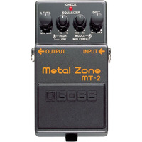 Boss Metal Zone Mt-2: Pedal De Distorção Para Guitarra