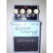 Pedal Boss Super Chorus Ch-1 + Cabo P10 De Brinde