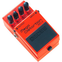 Pedal Para Guitarra Boss Mega Distortion Md 2 - Dual-stage