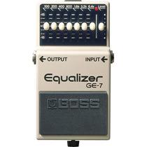 Pedal Equalizador Para Guitarra Ge-7 Boss Garantia De 1 Ano!
