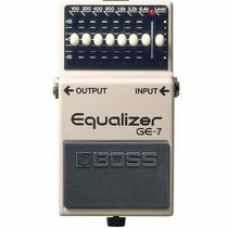 Pedal Boss Ge7 Equalizer Guitarra, 10144