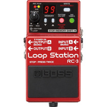 Pedal Boss Rc3 Loop Station ( Nota Fiscal E Garantia )