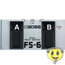 Pedal Boss Roland Fs6 Dual Footswitch 2 Em 1 P R O M O Ç Ã O