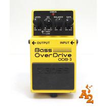 Pedal Boss Bass Overdrive Odb3 Distortion Contrabaixo - Loja
