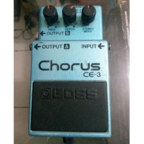 Pedal Boss Ce3 Chorus Made In Japan Green Label