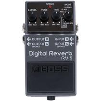 Pedal Para Guitarra Digital Reverb Rv5 Boss