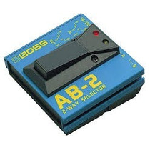 Pedal A-b Box Para Guitarra Ab2 Boss/novo/ Nota Fiscal