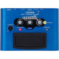Boss Ve-1 Vocal Echo Pedal Processador Efeitos Voz Usb Ve1