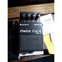 Pedal Boss Ml2 Metal Core Extreme Distortion