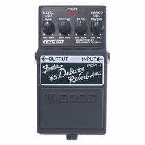 Pedal De Efeito Boss Fdr1 Fender 65 Deluxe Reverb-amp