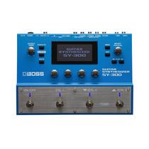 Pedal Sintetizador Boss Sy-300 Analógico Com Display Lcd E 7