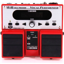Boss Ve-20 Pedal Processador De Vocal Novo Original